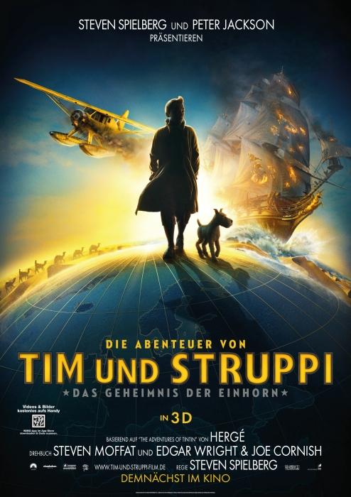 Tim und Struppi Film Poster