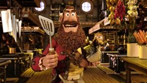 Die Piraten angriffslustiger Kapitän Bild