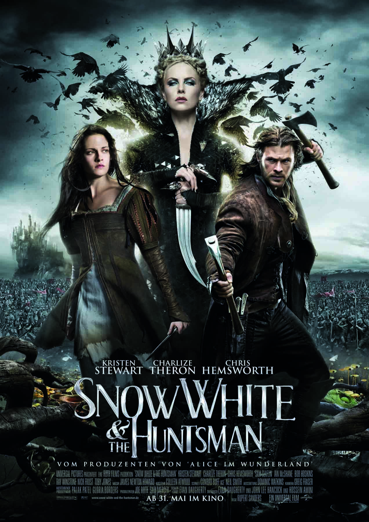 Snow White and The Huntsman Plakat