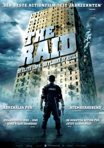 the raid Plakat