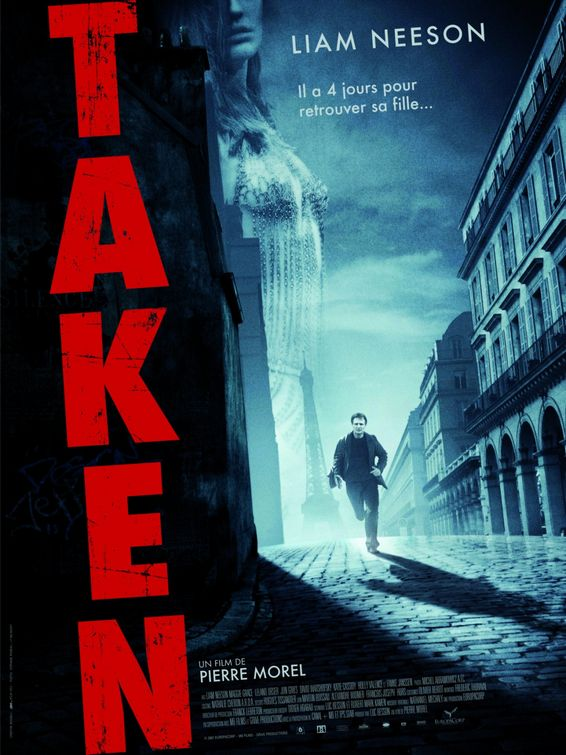 96 Hours - Taken Plakat