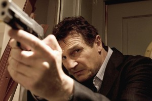 96 hours Liam Neeson konzentriert Bild