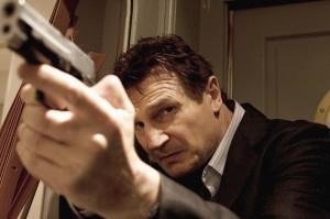 96 hours Liam Neeson konzentriert Bild