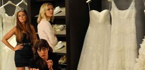 Die Hochzeit unserer dicksten Freundin Hochtzeitskleider Dunst Fisher Caplan Bild