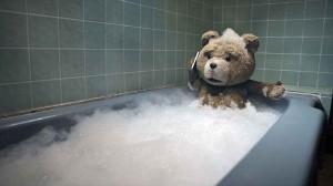 Ted Teddy Badewanne Bild
