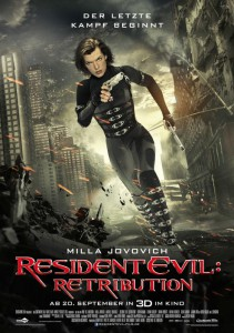 Resident Evil 5 Retribution Plakat