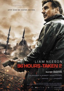 96 Hours - Taken 2 Plakat